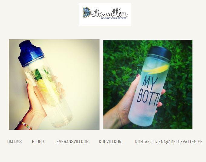 Webshop-detoxvatten-flaska