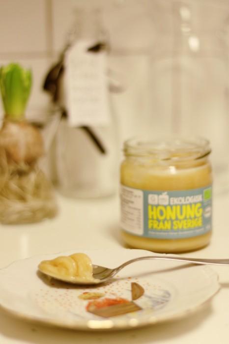 Honung ingefärashot
